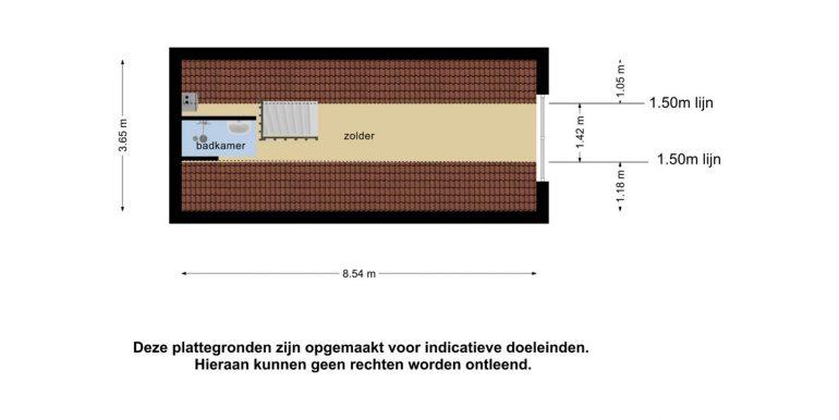 plattegrond verdieping bijgebouw